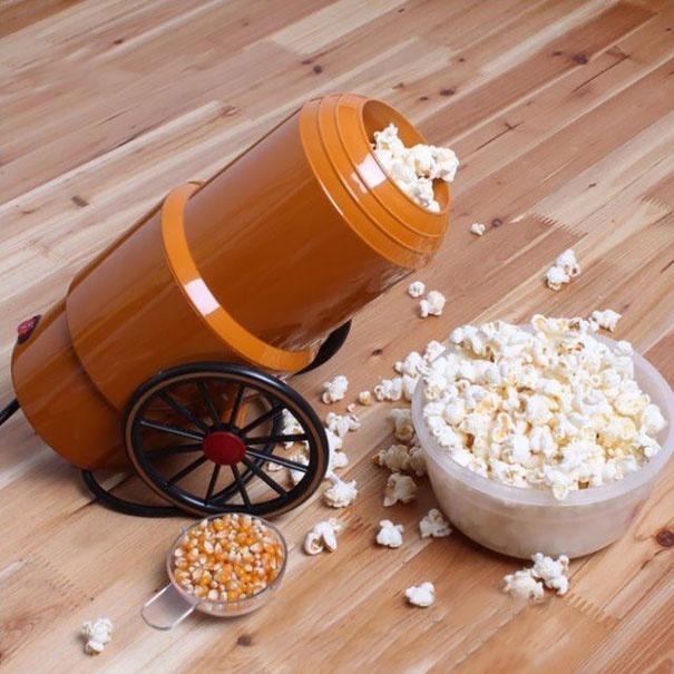 форма бомба для приготовления попкорна