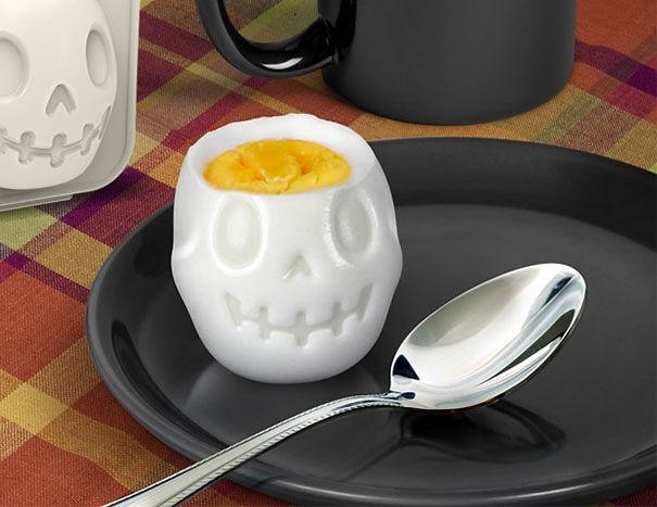 форма для варки яиц череп
