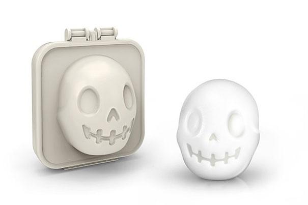 формочка для варки яиц череп
