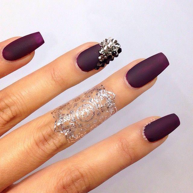 Матовые цвета для ногтей
