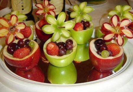 нарезка карвинг фрукты