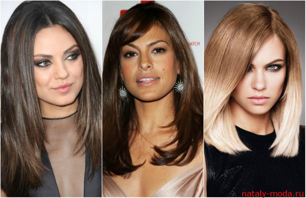 Женские стильные стрижки для длинных волос