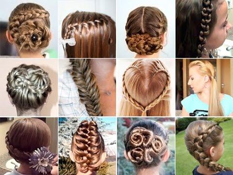 Фото причёску в школу