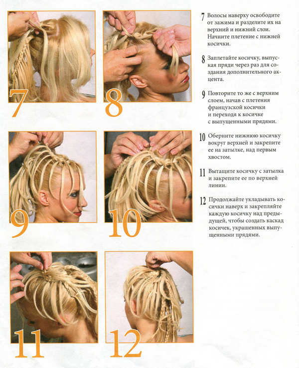 Как сделать косу прическу