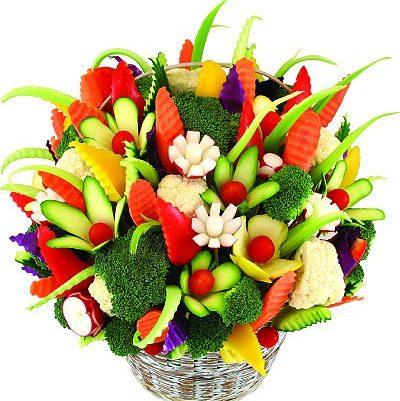 праздничный букет из фруктов