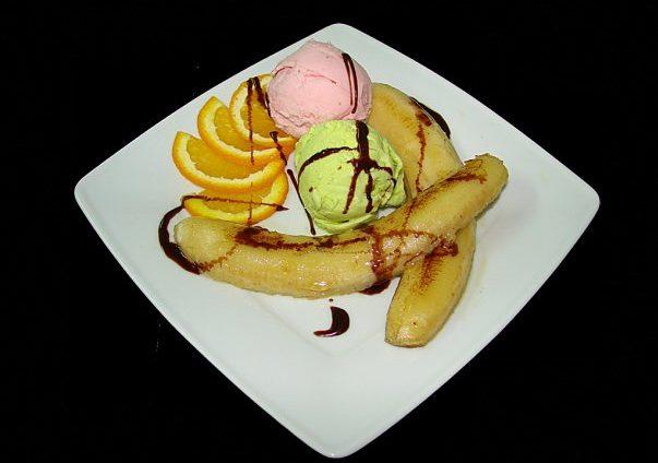десерт из бананов рецепты