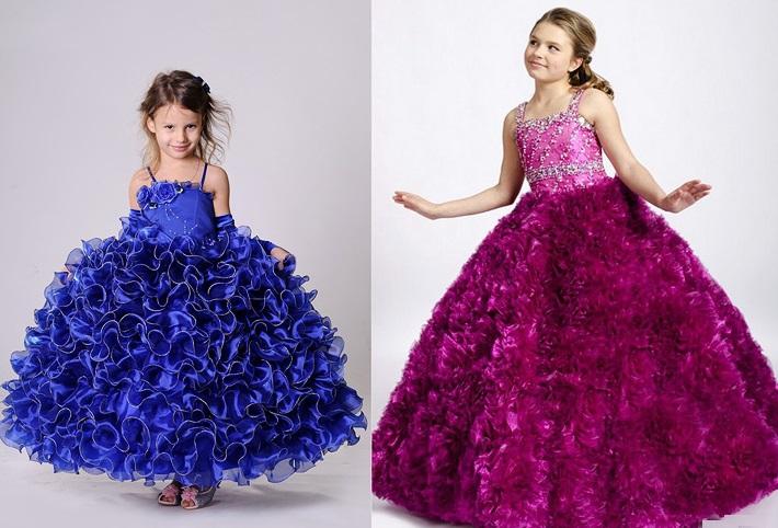 Как сшить новогоднее детское платье и костюм