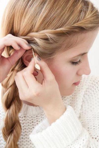 Прическа со жгутом на длинные волосы пошагово фото видео
