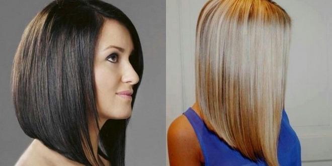Прическа каскад на средние волосы