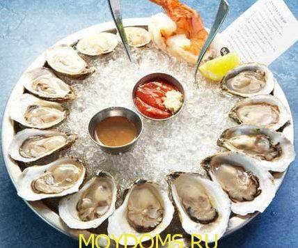 морской деликатес ресторанное блюдо