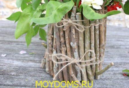декор вазы пошагово