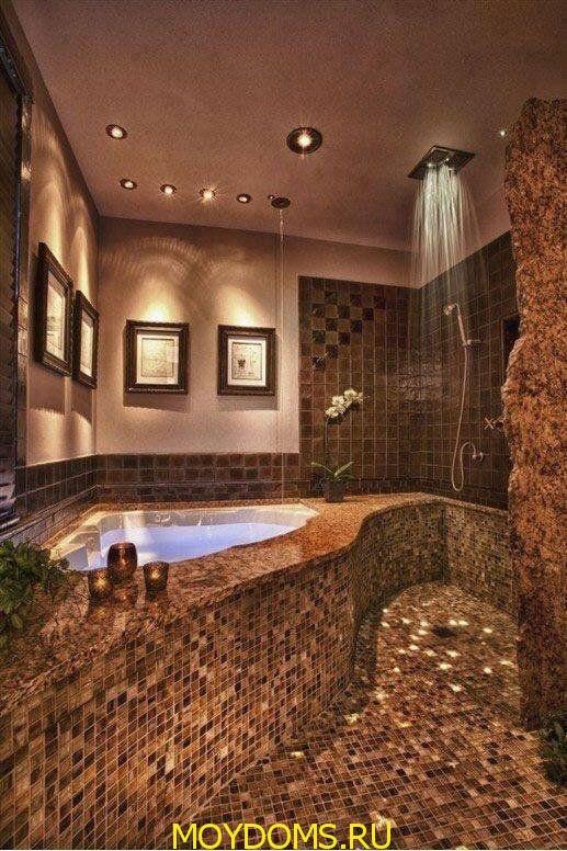 интерьер дизайн ванной