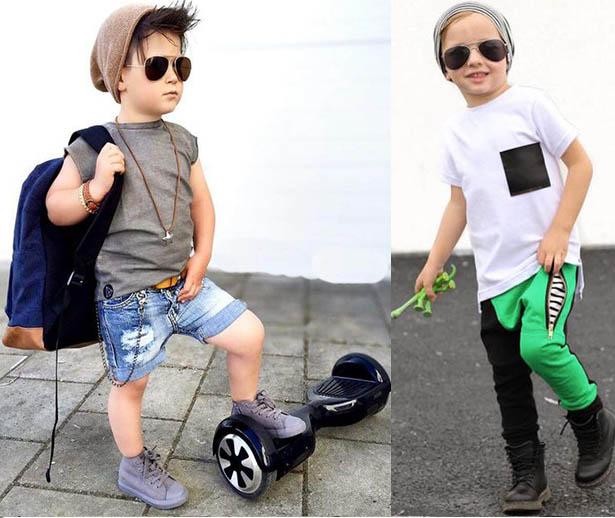 модные мальчики одежда стиль 2019
