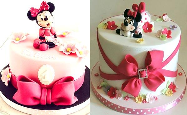детские торты на день рождение Минни
