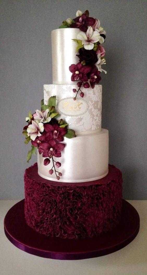 роскошный свадебный торт фото