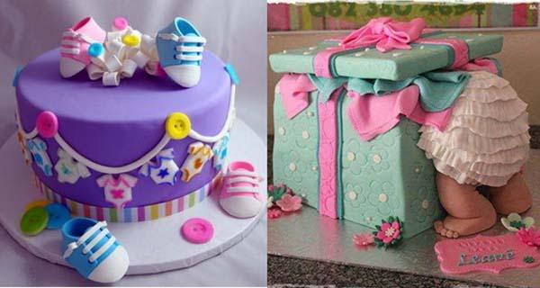 детские торты новорожденным