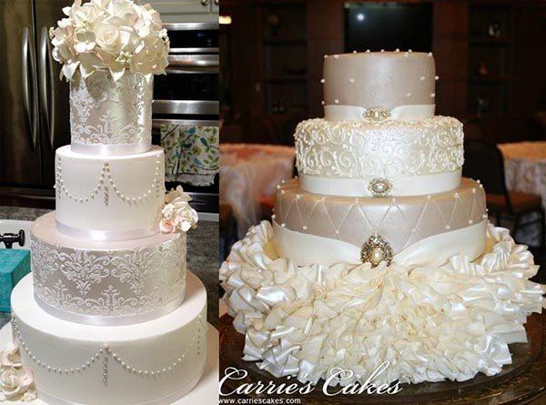шедевральные свадебные торты