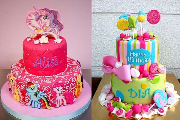 детские торты на день рождение Пони