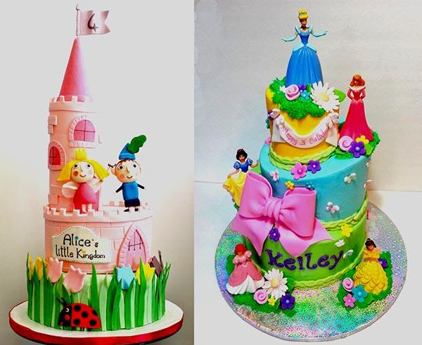 дизайн детских тортов