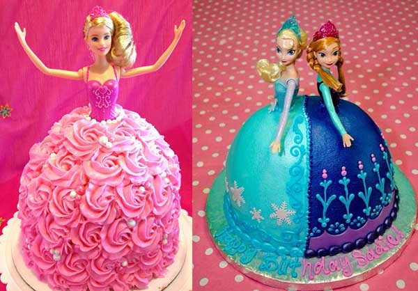 как декорировать торт Феи принцессы