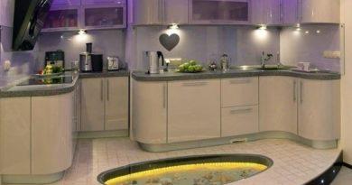 Виды и описание напольной керамической плитки для кухни