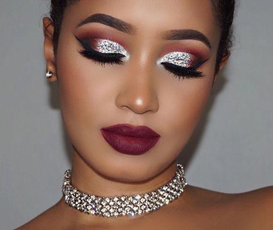 фото модного макияжа 2018-2019