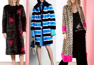 Меховые пальто, шубы 2019 модные тенденции фото