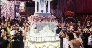 организация свадьбы шикарные торты