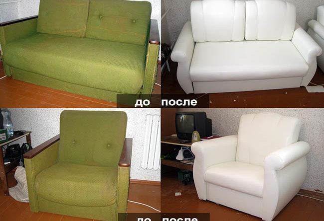 как отремонтировать перетянуть обивочной тканью диван пошагово