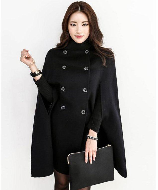 Модные пальто-кейп – 2019