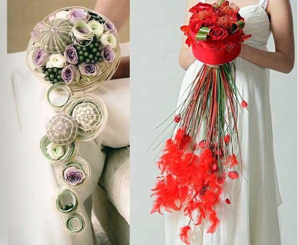 стильные букеты цветов