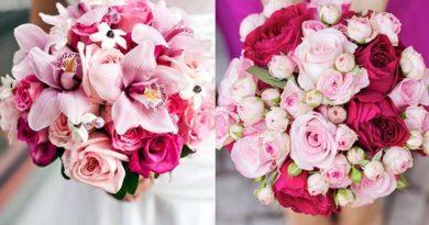 свадебные букеты розы и орхидеи фото