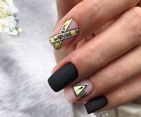 стильный дизайн ногтей 2019