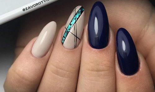 глянцевые ногти