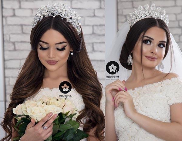 свадебные прически 2019 стильные идеи