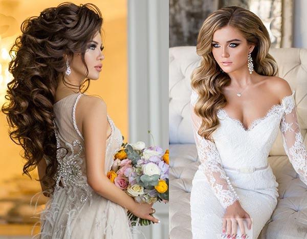 какие в моде прически на свадьбу 201