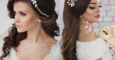 красивые волосы свадебная прическа