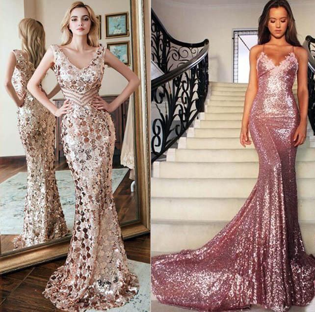 блестящие со стразами и камнями платья 2019