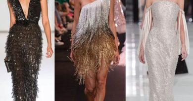 модные платья 2019 бахрома