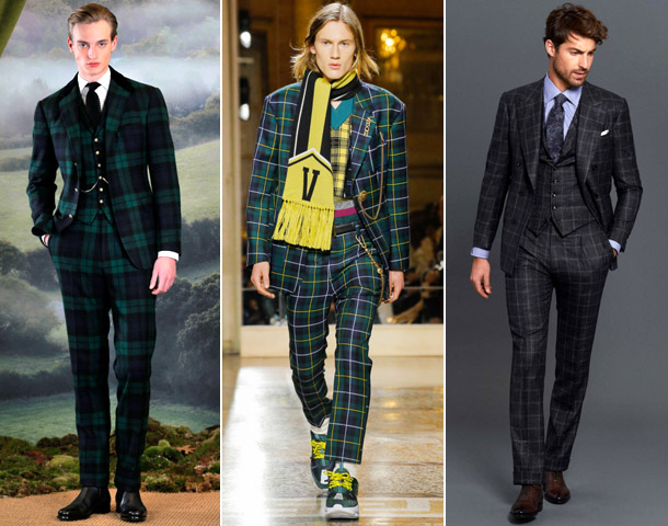 тенденции мужская мода 2019 клетка