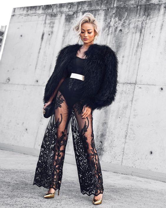 модные брюки 2019 клеш длинные фото