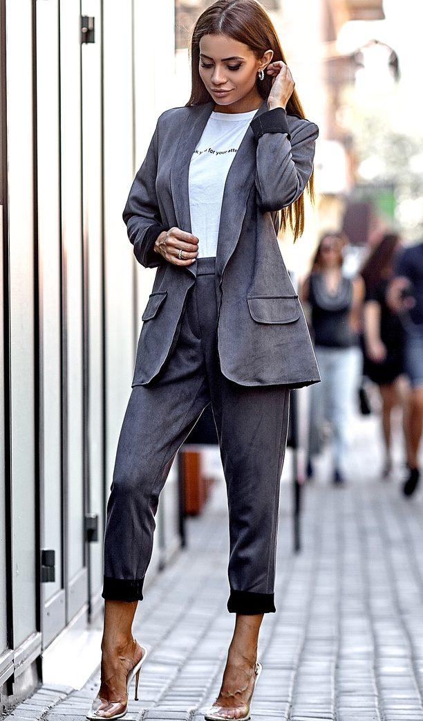 модные брюки 2019 костюмы фото подборка