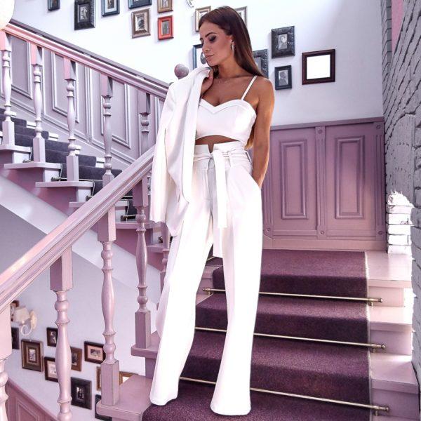 брюки завышенная талия 2019 фото