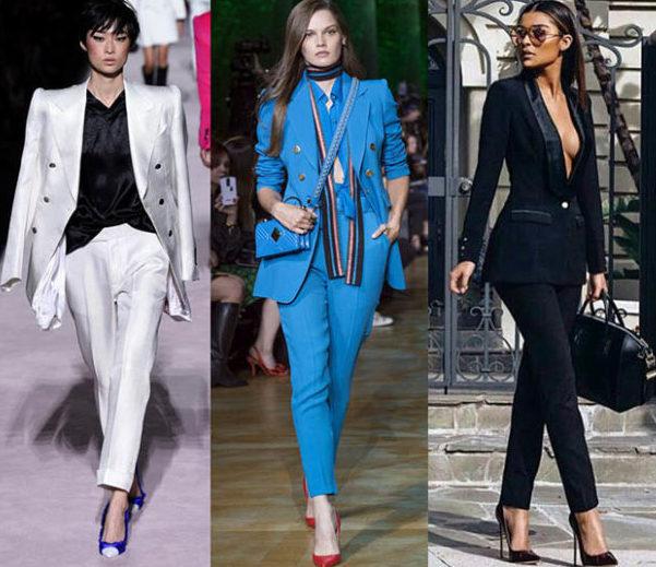 модные брюки 2019 укороченные фото костюмы