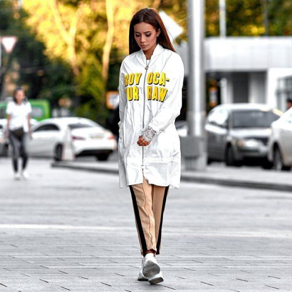 мода 2019-2020 брюки фото с лампасами
