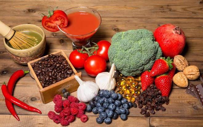 потребление антиоксидантов