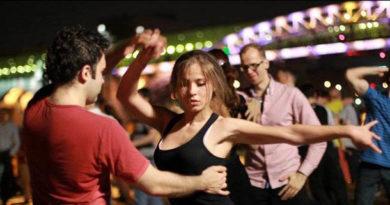 танец хастл Латино-американские танцы: Хастл