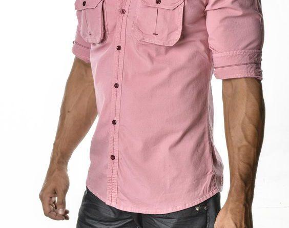 мужские рубашки 2019 тенденции фото