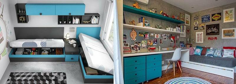 интерьер комнаты мальчика идеи фото