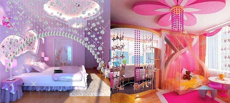 модный интерьер детской спальни